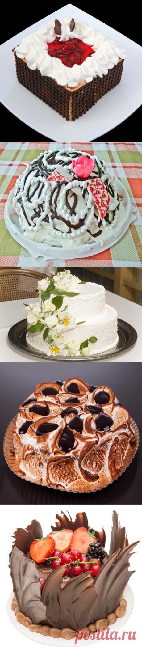 La elección de las tortas muy hermosas originales de casa con las recetas. Выпуск-7
