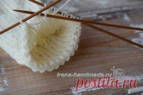 Носки «Острый зигзаг» (вязание, схемы и фото) - Irena Handmade
