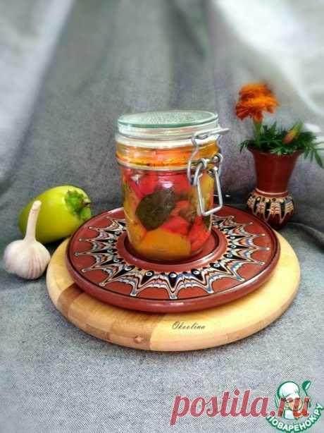 Закуска из болгарского перца – кулинарный рецепт