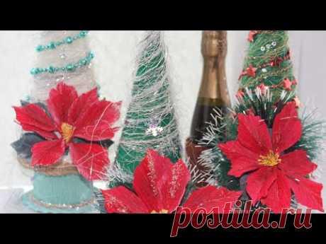 Елка из шампанского своими руками  / DIY Champagne Christmas tree - YouTube