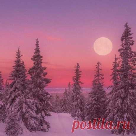 Красота зимних закатов и рассветов...