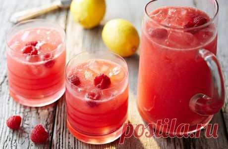 Малиновый лимонад — Sloosh – кулинарные рецепты