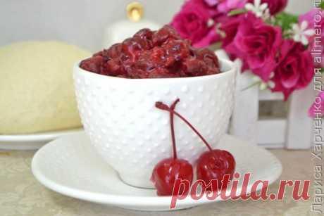 👌 Отменная ягодная начинка для домашней выпечки из вишни, рецепты с фото Сегодня поделюсь отличным рецептом приготовления ягодной начинки для домашней выпечки за считанные минуты в микроволновке, которая вас непременно удивит, ведь она очень вкусная и г...