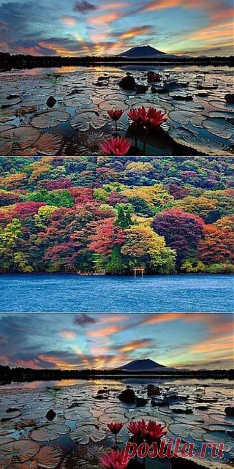 Самые красивые озера на планете!!!