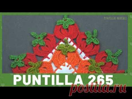 Puntilla 265 | Jitomates o Calabazas | Puntillas Maribel