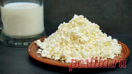 Варим творог в молоке – результат вас точно удивит!