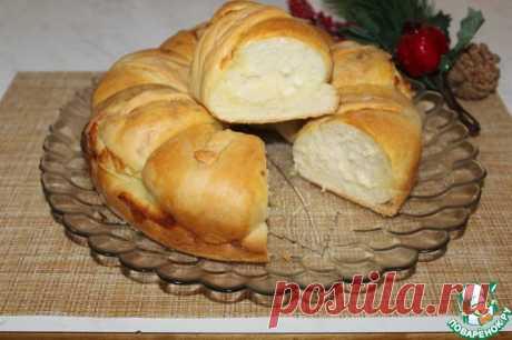 Воздушный хлеб с брынзой Кулинарный рецепт