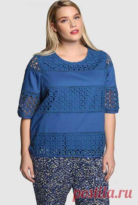 Блузки для полных женщин которые их стройнят: фото моделей и фасонов