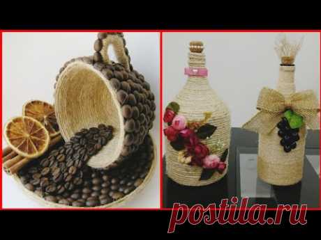 Beautiful jute and roop craft ideas