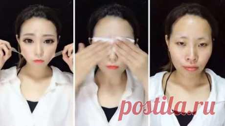 Азиатские женщины без макияжа   Офигенная