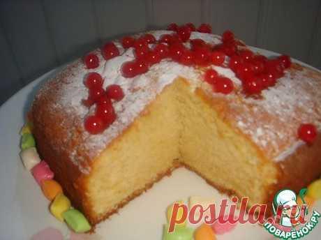 "Английский пирог ""Фунт"" - кулинарный рецепт"