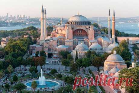 Собор Святой Софии - символ «золотого века» Византии