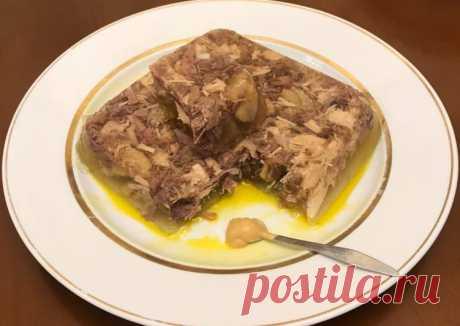 (43) Молдавский студень из петуха ✈️🛥🚞🚘🐓Молдова 🇦🇩 - пошаговый рецепт с фото. Автор рецепта Ольга ✈ . - Cookpad