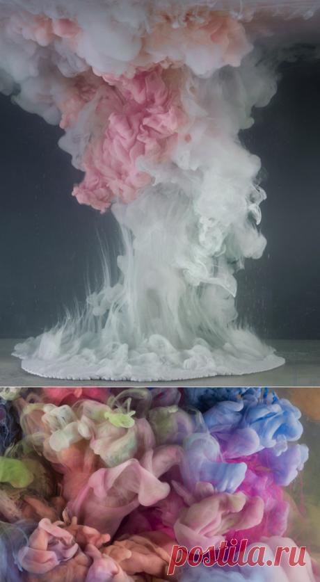 Красочные жидкости Кима Кивера (Kim Keever) | Фотоискусство