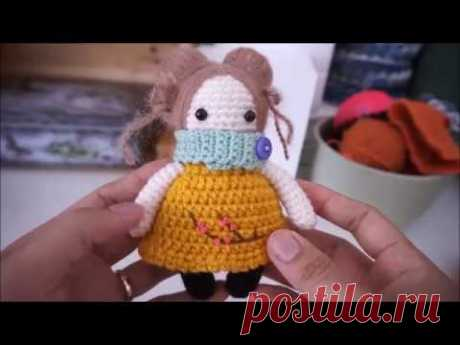 How to crochet baby doll / small doll
