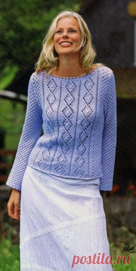 8 очень красивых пуловеров | Волшебные спицы | Яндекс Дзен