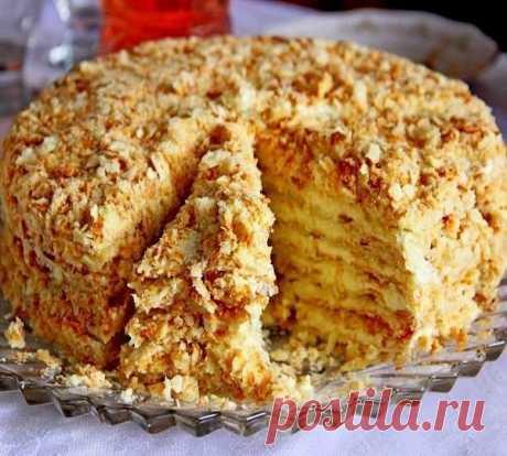 Svetlana cake without pastries