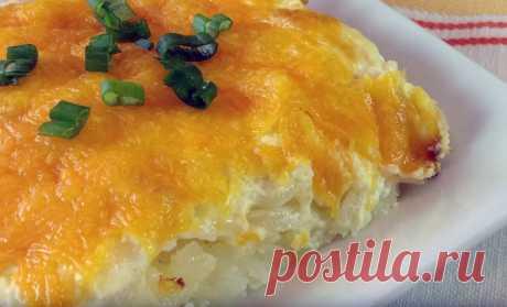 Потрясающая картофельная запеканка, которая сведет с ума своим вкусом!