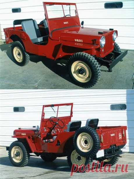 Jeep Willys 1945-1949