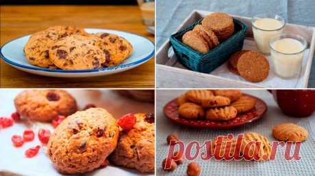 Рецепты приготовления вкусного орехового печенья