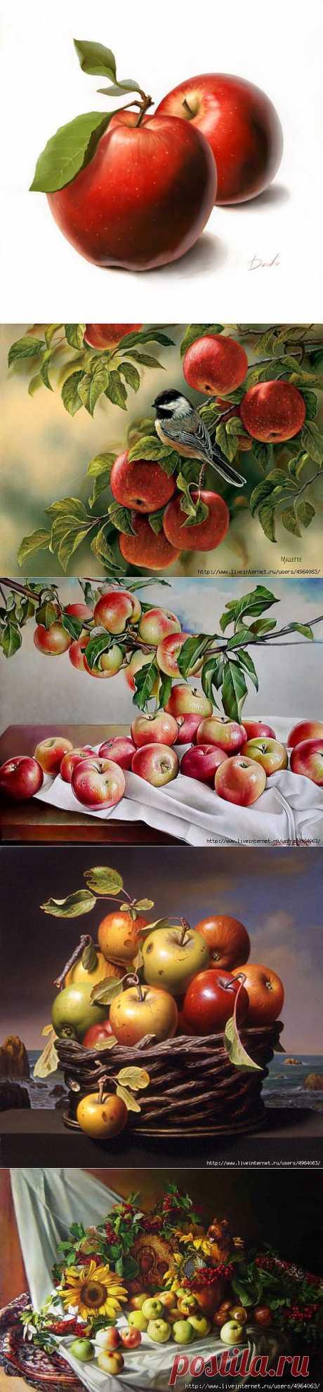 Яблоки для декупажа)).