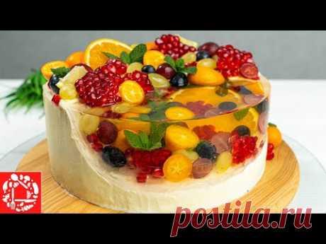 Поразительный торт с фруктами!