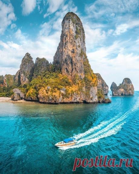 Рейли Бич, Таиланд.