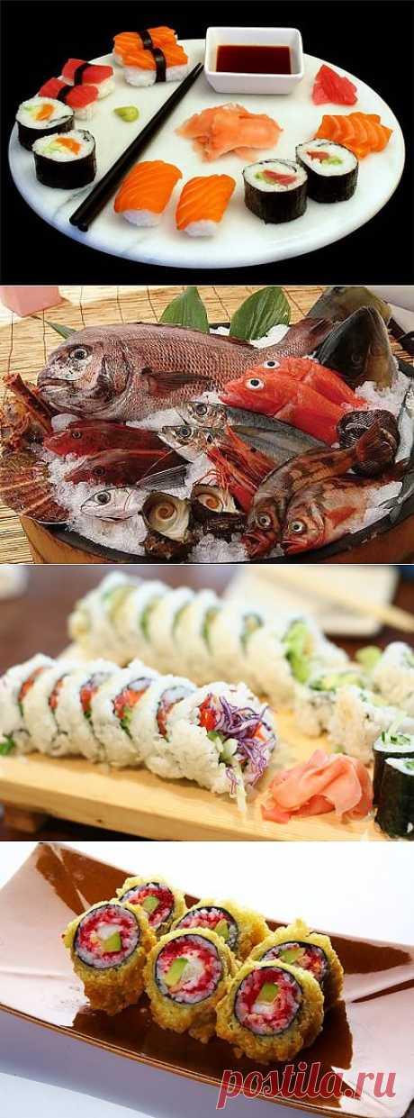 Как готовить роллы - рецепты приготовления суши и роллов