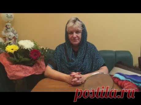 Как красиво завязать платок в церковь, - YouTube