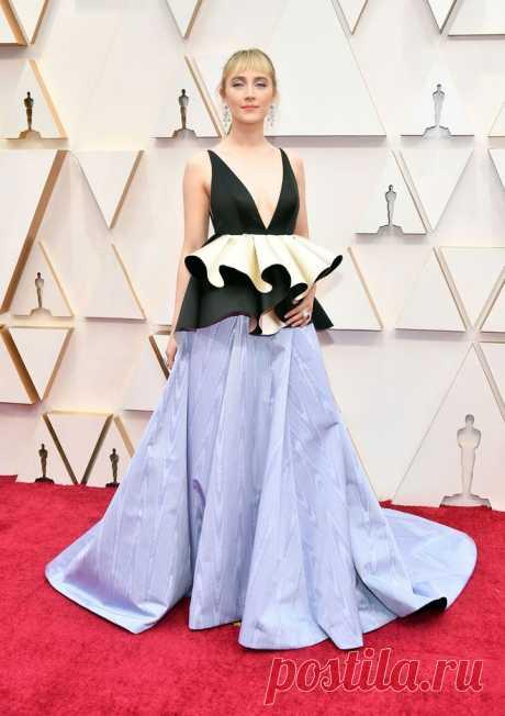 Сирша Ронан в платье Gucci на церемонии «Оскар-2020» | VestiNewsRF.Ru