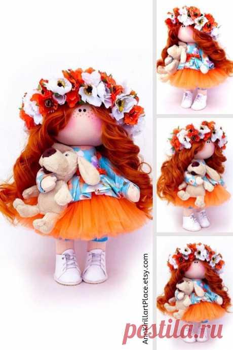 Handmade Tilda Doll Interior Decor Doll Birthday Girl Gift | Etsy