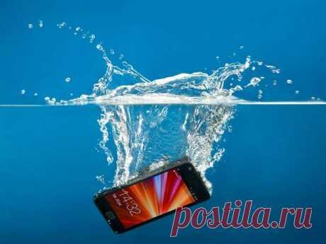 Что делать если телефон упал в воду — Делимся советами