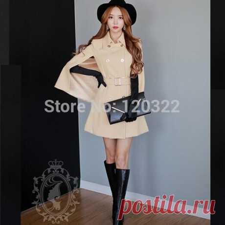 coat fur Picture - More Detailed Picture about DABUWAWA Original New Fashion 2014 Brand Spring and Autumn Light Beige Plus Size Slim Casual Trench Coat for Women Wholesale Picture in Trench from PINK DOLL Trade Co.,Ltd | Aliexpress.com | Alibaba Group
