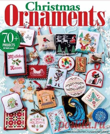 Just CrossStitch - Christmas Ornaments /2019/