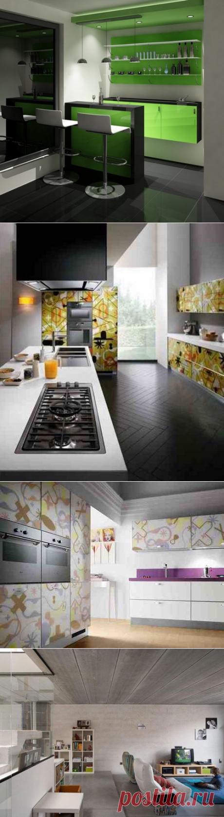 Кухонные фасады: выбор материалов и стиля