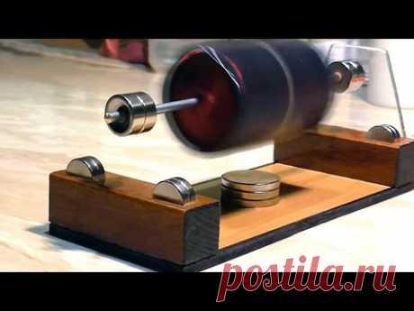Мендосинский мотор. Изготовление во всех подробностях - YouTube