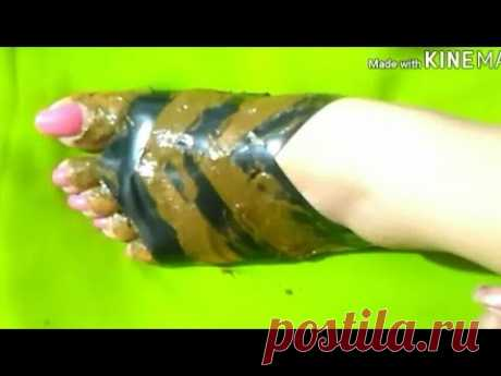 Easy trick foot mehndi with the help of cello tape and comb #2/ mehndi for beginners/mehndi design