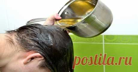 Ополаскиватели для волос из того, что есть под рукой