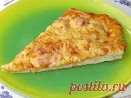 Пицца для детей (простой рецепт) - пошаговый рецепт с фото на Повар.ру