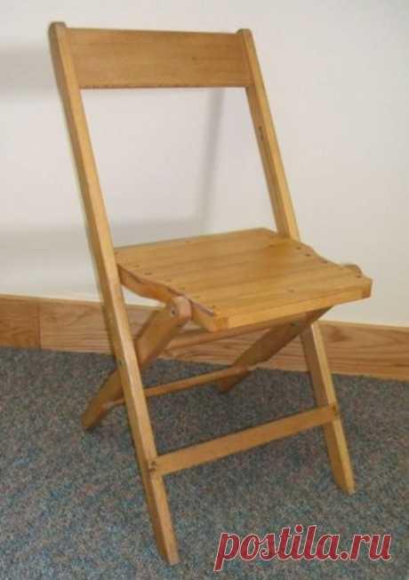Делаем деревянный складной стульчик со спинкой — Сделай сам
