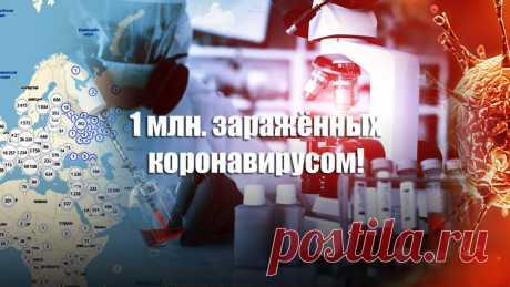 Количество заражённых коронавирусом в мире превысило 1 млн. человек | Листай.ру ✪