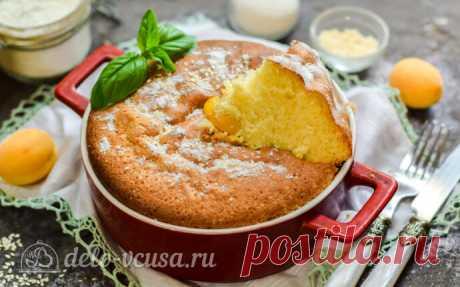 Пышная шарлотка с абрикосами в духовке пошаговый рецепт с фото