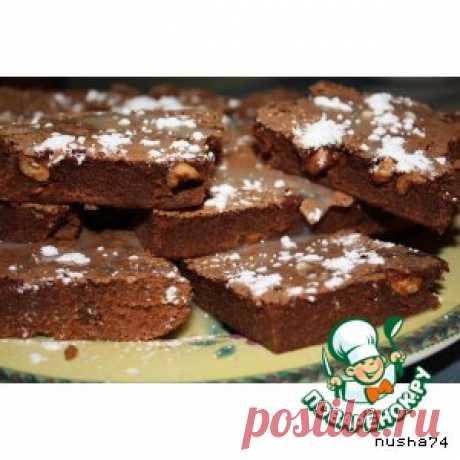 """Печенье """"Брауни"""" - кулинарный рецепт"""