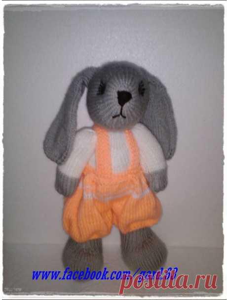 Кролик с парашютных штанов