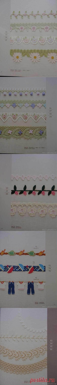 """Crochet Edging & Braid"". Японский журнал по вязанию крючком.."