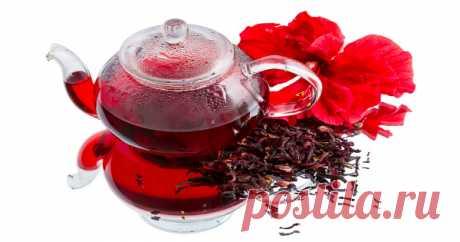 Чай каркаде – напиток самих фараонов! Этот целебный напиток способен улучшить зрение и не только..