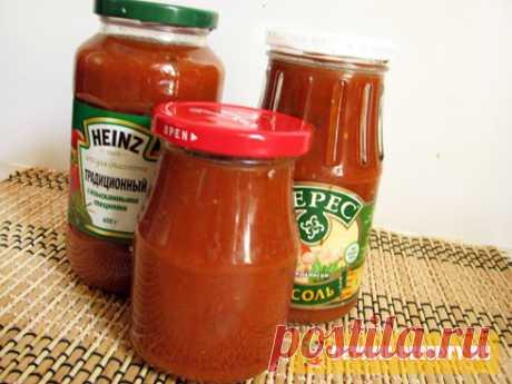 Рецепт кетчупа в домашних условиях на зиму | ДЕТСКИЕ РЕЦЕПТЫ, БЛЮДА