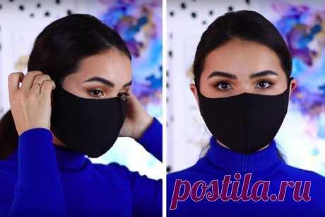 Удобный и по-своему стильный вариант маски для лица (Шитье и крой) – Журнал Вдохновение Рукодельницы