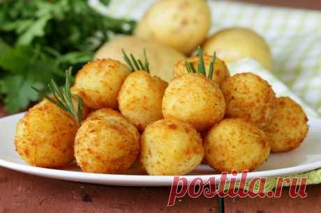 Картофельные шарики — Sloosh – кулинарные рецепты
