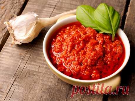 Аджика из помидоров рецепт с фото